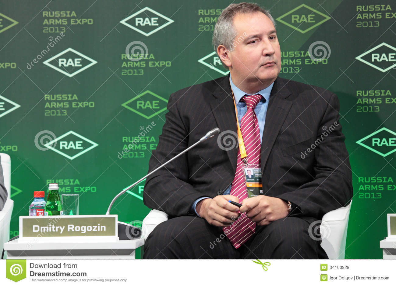 Dmitry Rogozin Editorial Stock Photo - Image: 34103928