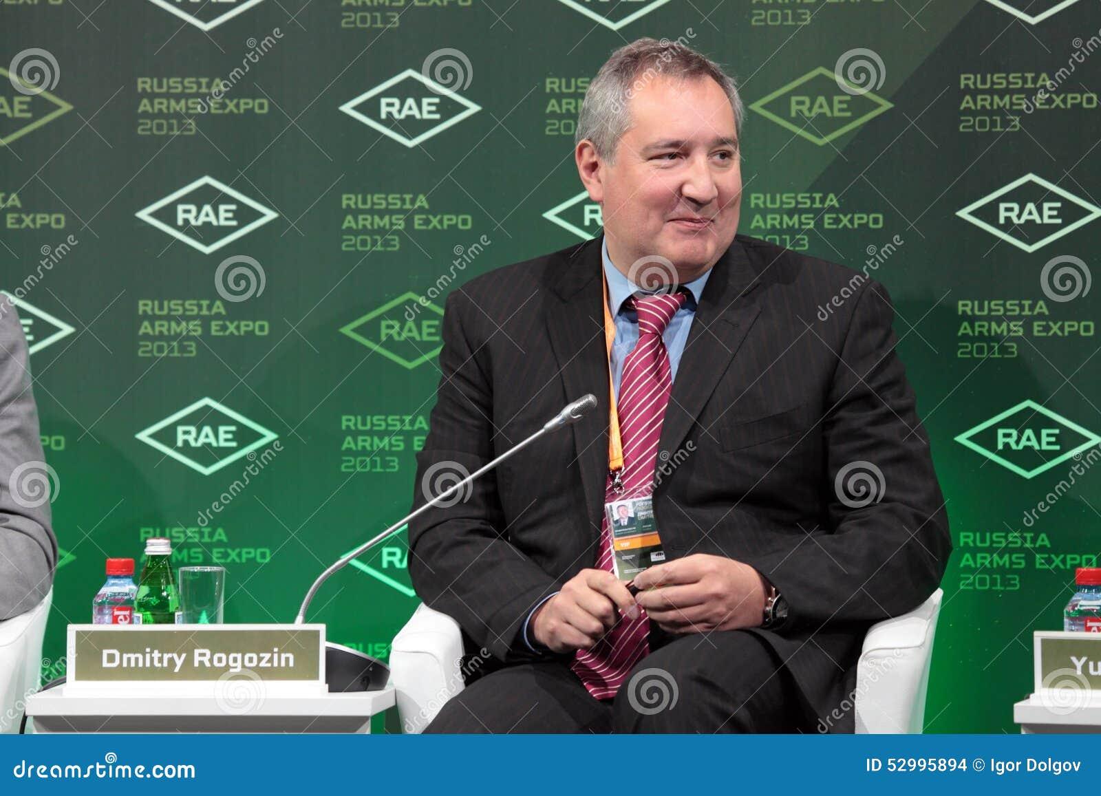 Dmitry Rogozin Editorial Stock Image - Image: 52995894