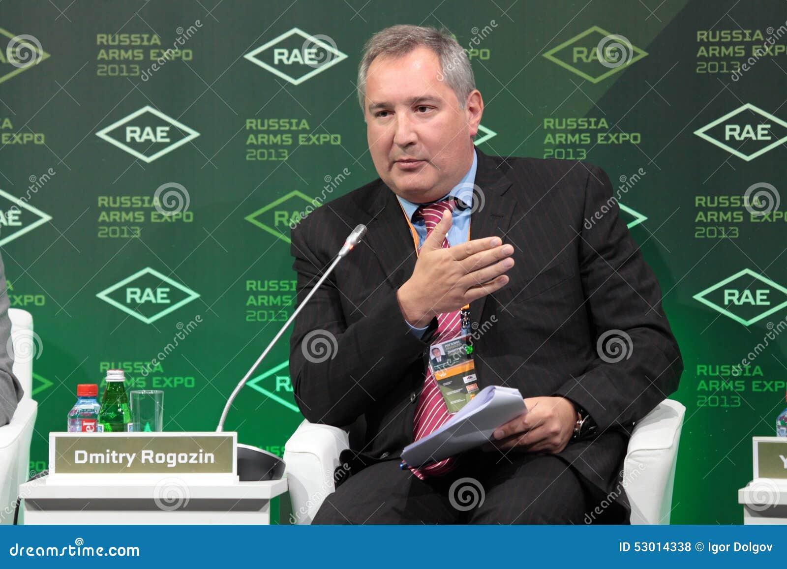 Dmitry Rogozin editorial stock photo. Image of arms ...