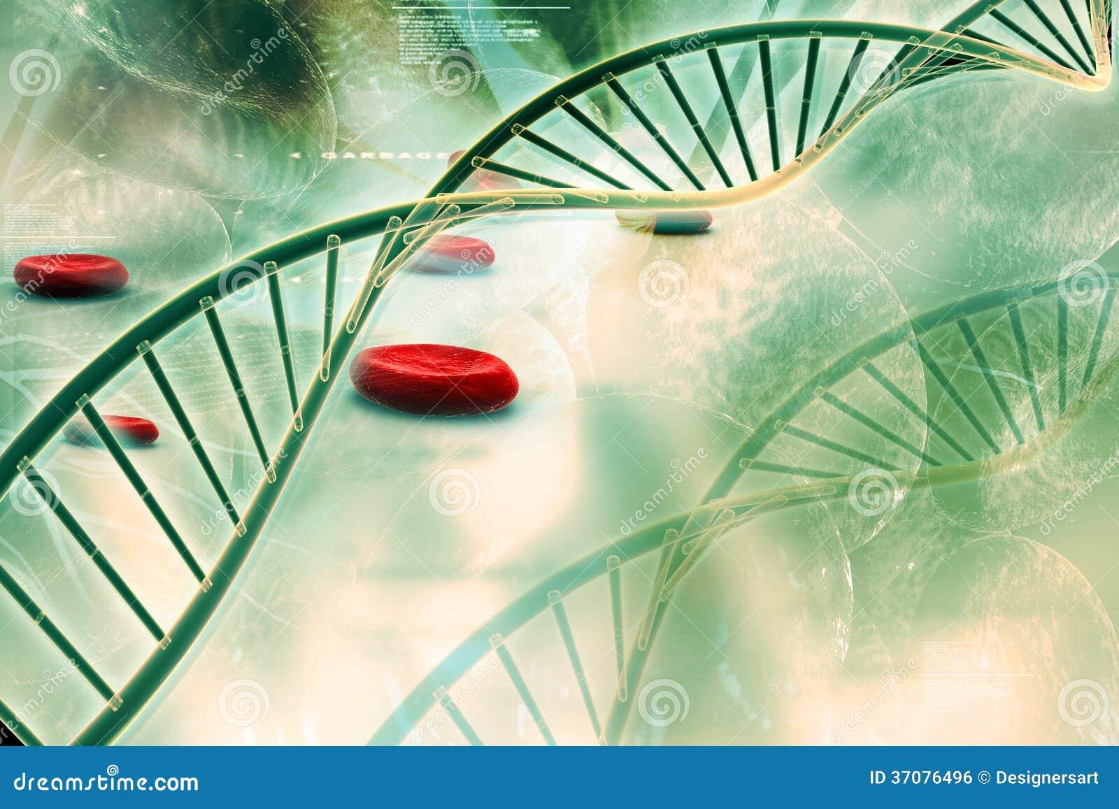 Download DNA ilustracji. Ilustracja złożonej z badanie, medyczny - 37076496