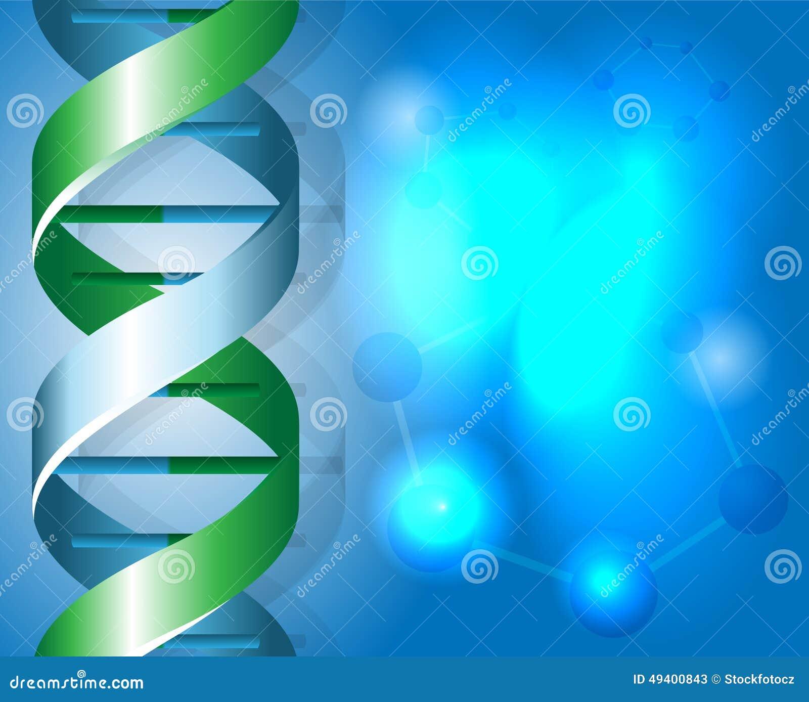 Download DNA-backgound vektor abbildung. Illustration von molekül - 49400843