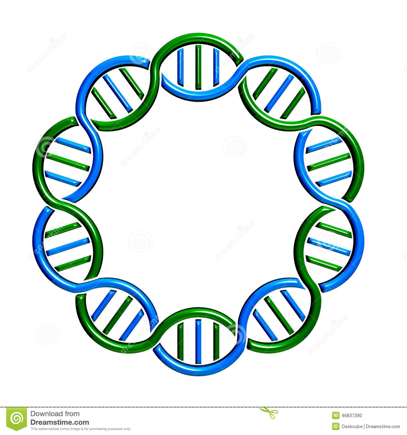 dna circle strand loop stock illustration illustration of monogram clip art free monogram clip art free images