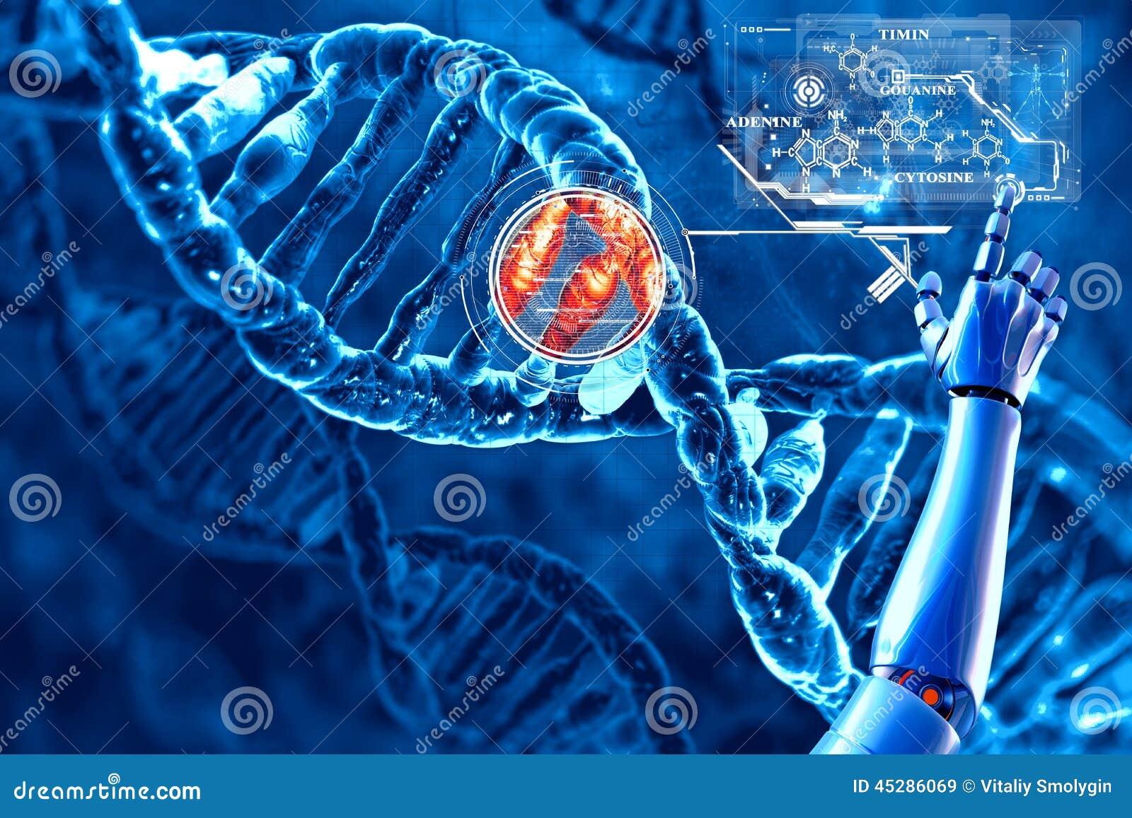 DNA e la sua formula chimica