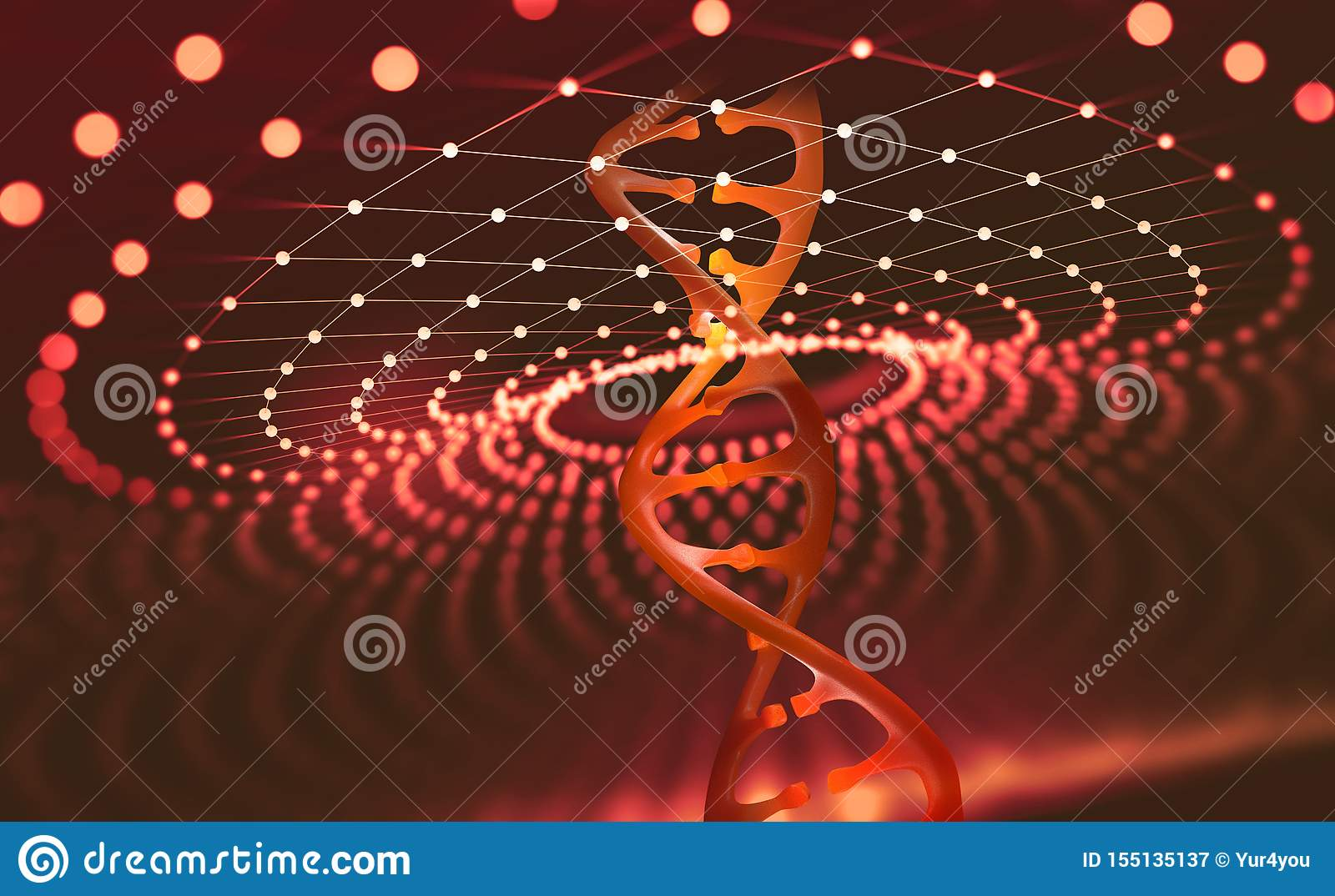 DNA helix. Innovative technologies in the study of the human genome
