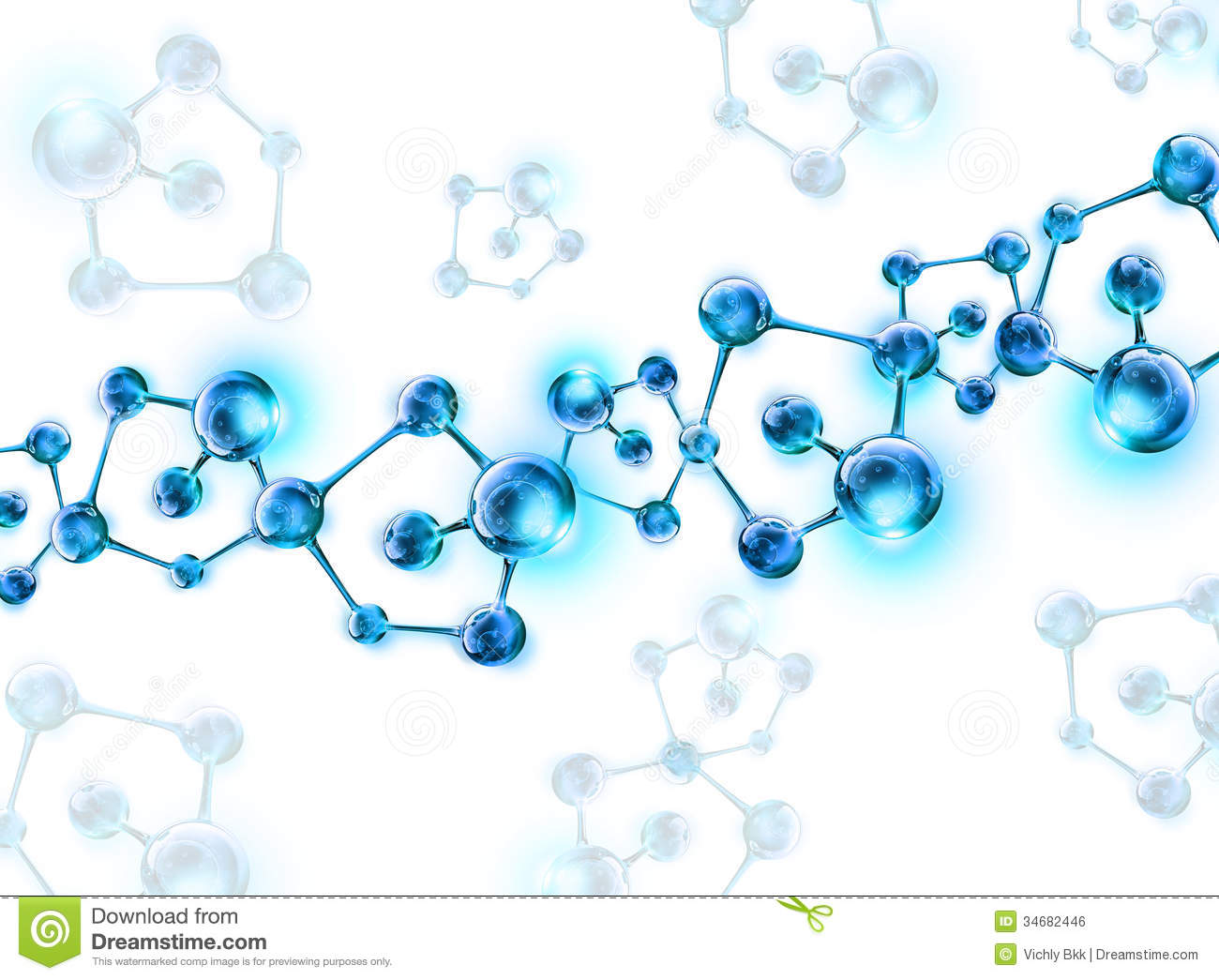 DNA Helix Molecular Background Royalty Free Stock Image - Image ...
