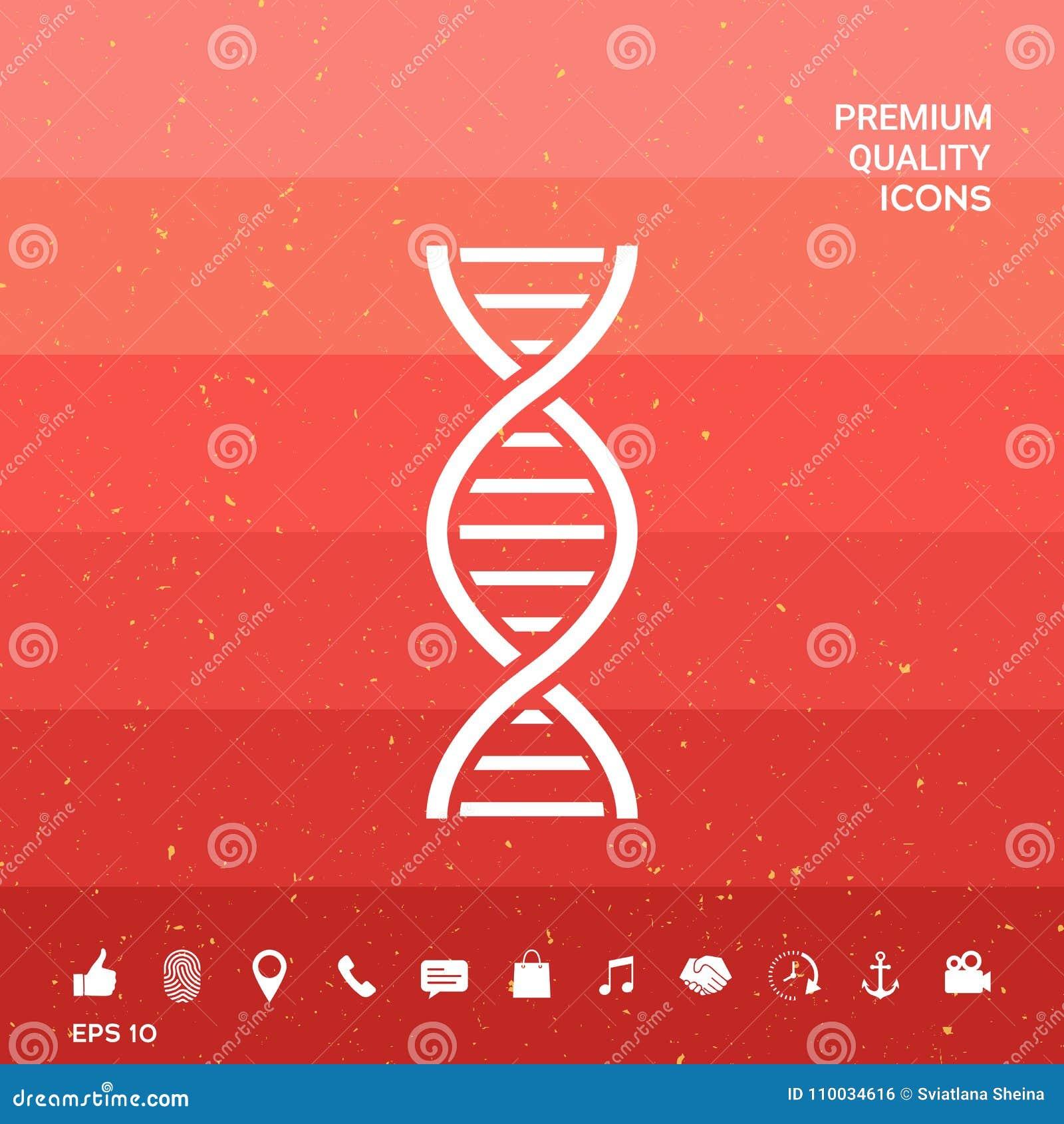 DNA-symboolpictogram