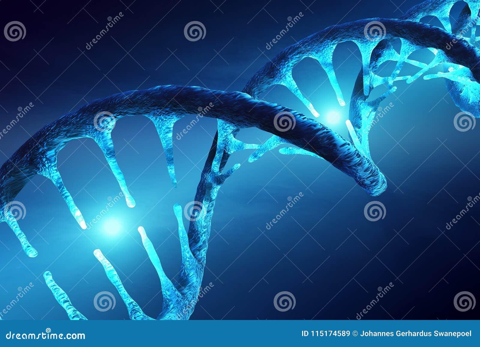 DNA-verlichte structuur