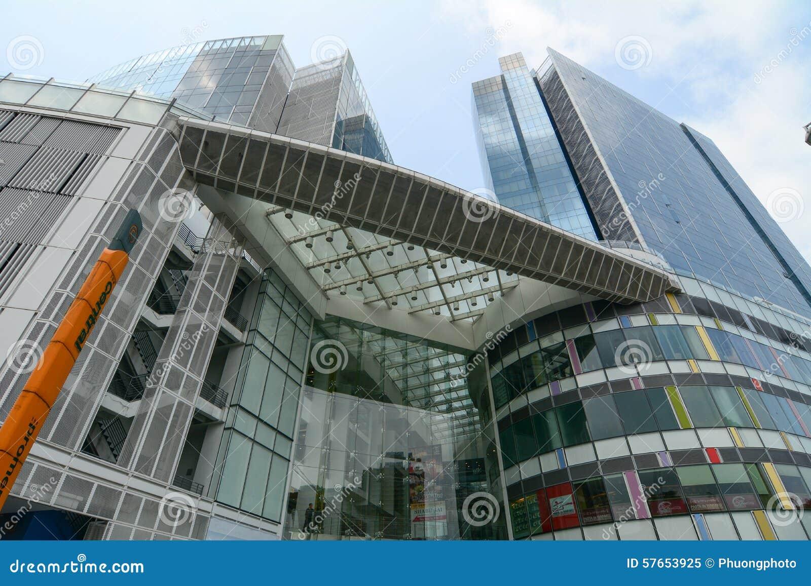 Dnia widok zakupy centrum handlowe w Singapur