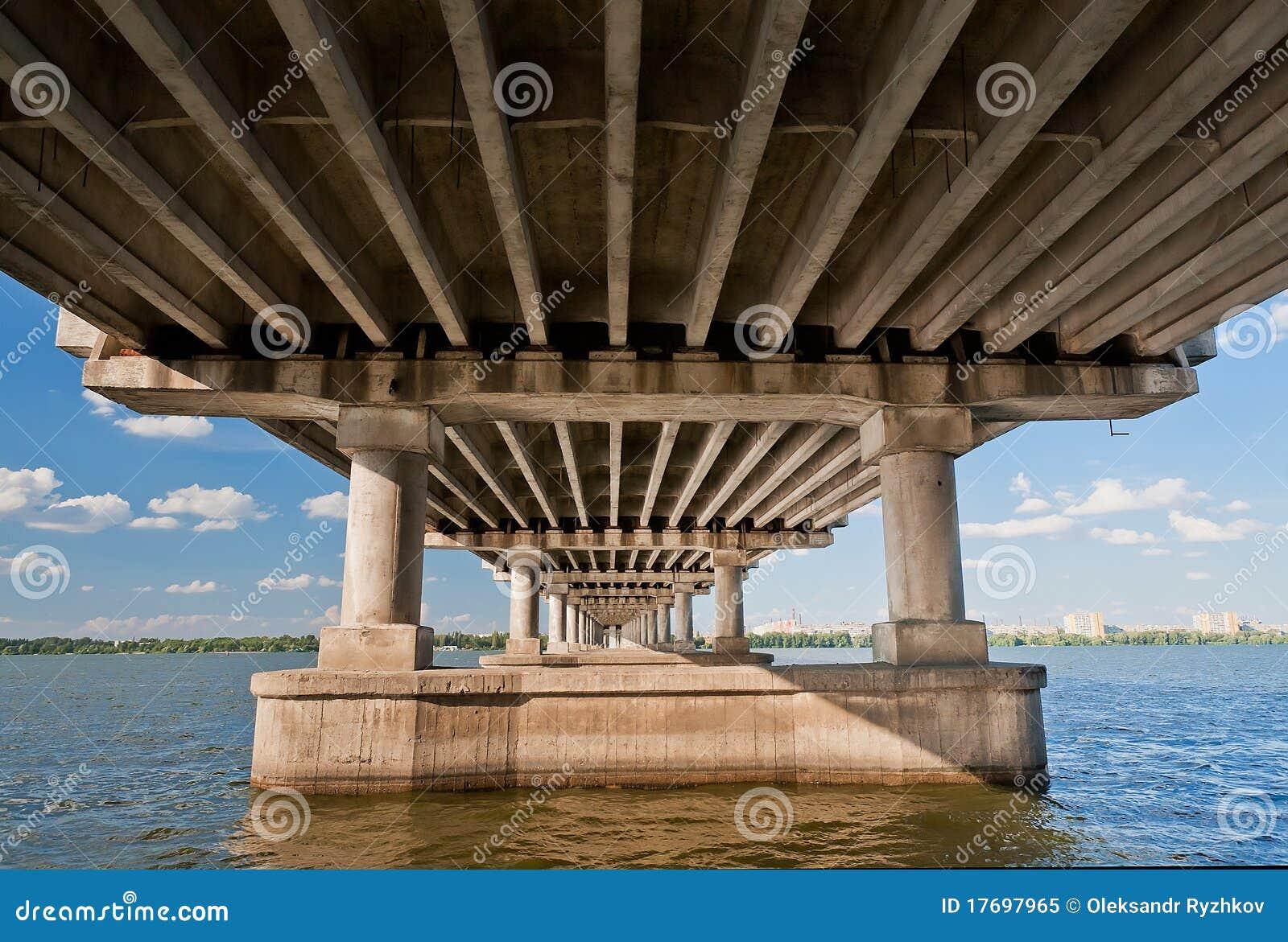Dnieper bridżowa rzeka