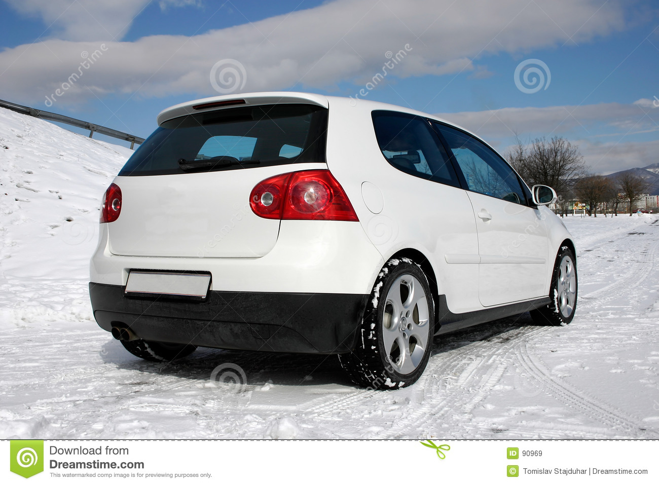 Do golfa gti vw z tyłu