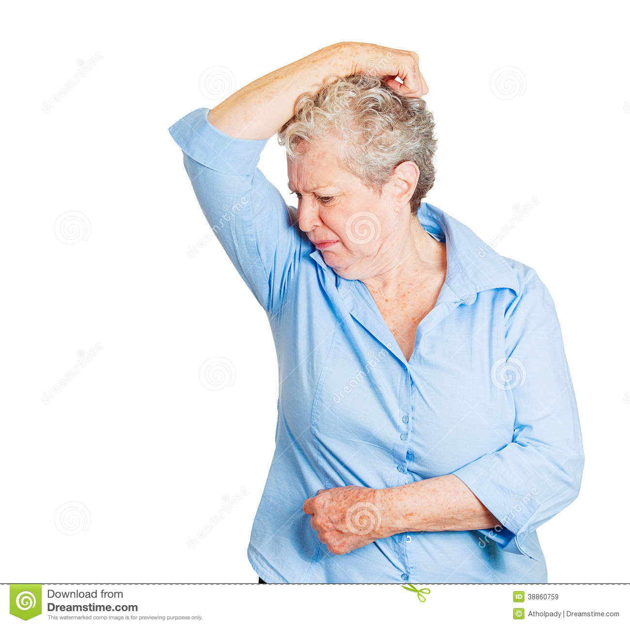 Sniffing stock photos illustrations and vector art for How to get bad smell out of armpits in shirts