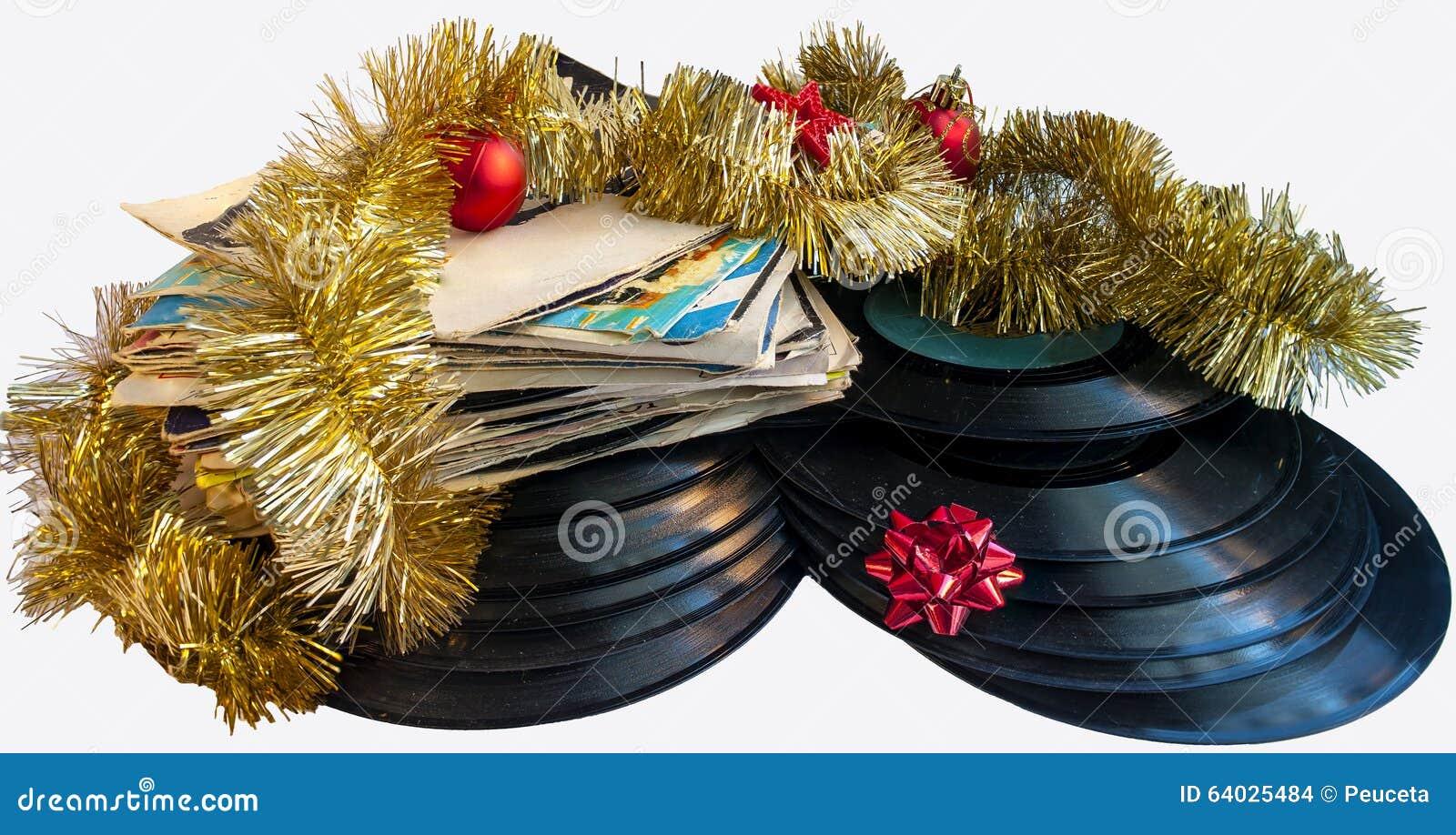 Votos de um Feliz Natal Do-natal-vida-ainda-com-um-natal-do-disco-e-das-bolas-do-vinil-64025484