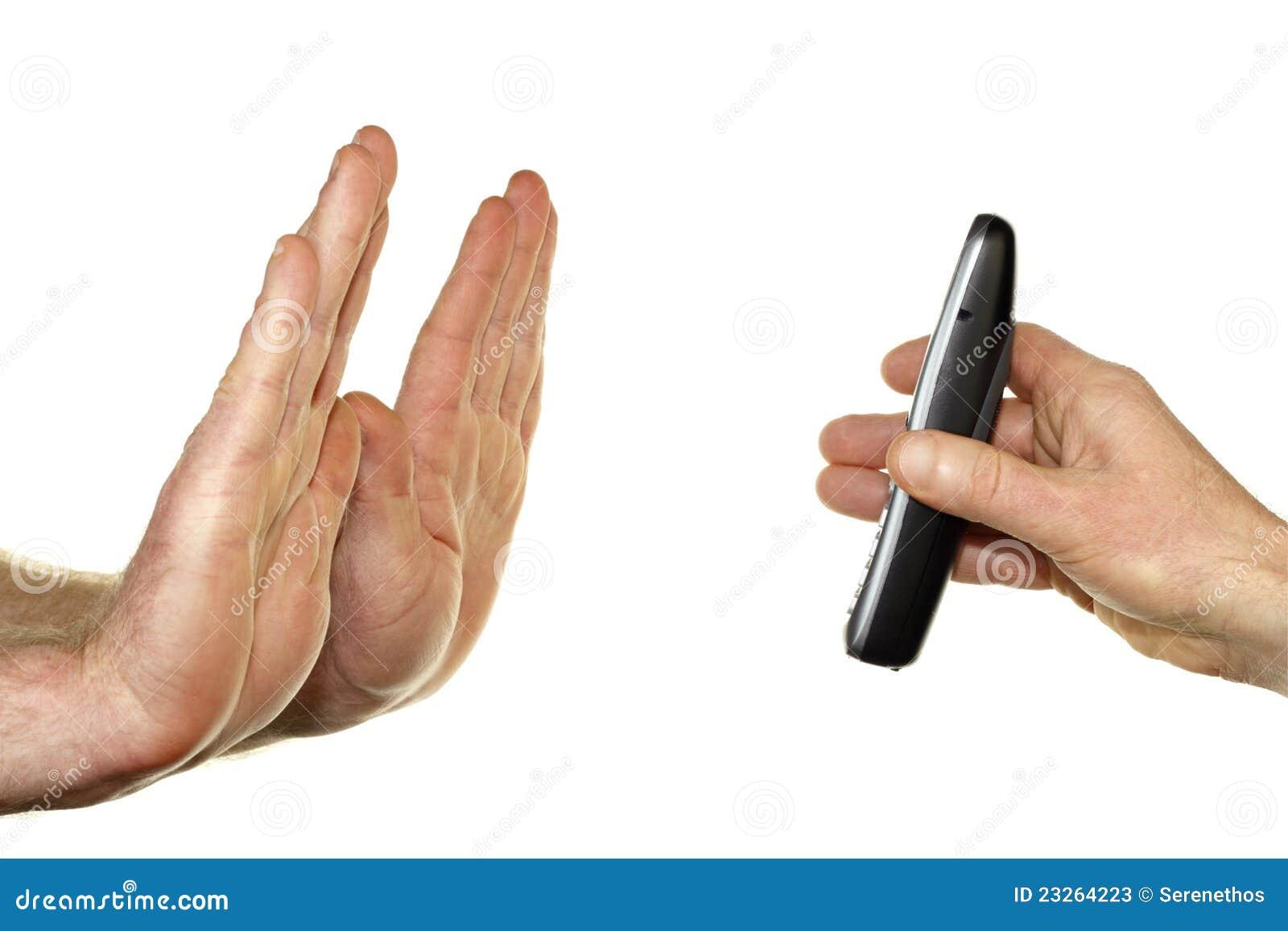 Do Not Call Gesture