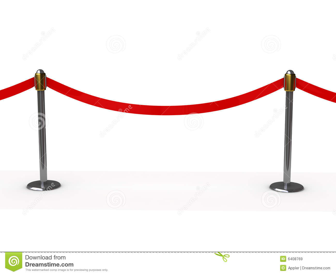 Do Not Cross Red Line Royalty Free Stock Images Image