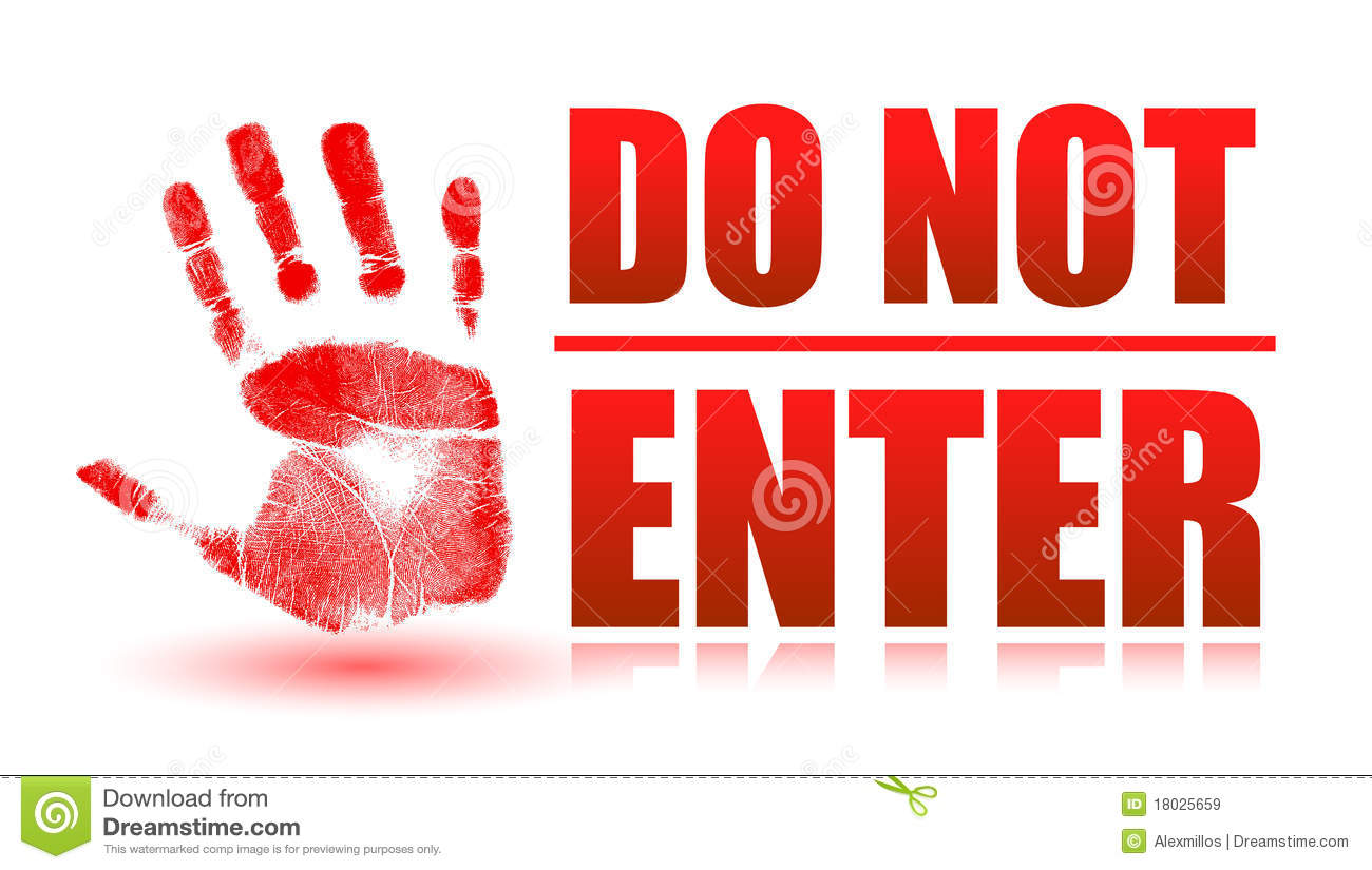 Do Not Enter Royalty Free Stock Images - Image: 18025659
