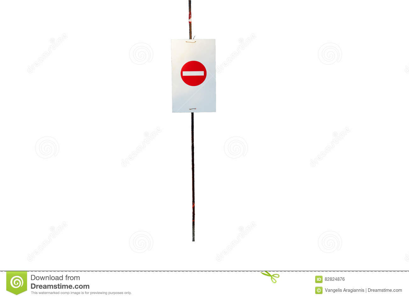 Do Not Enter Sign, Isolated Stock Photo - Image of factory, danger