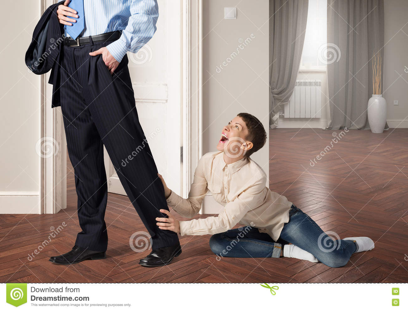 Do Not Leave Me Alone Stock Photo Image Of Alone Leave 70757210