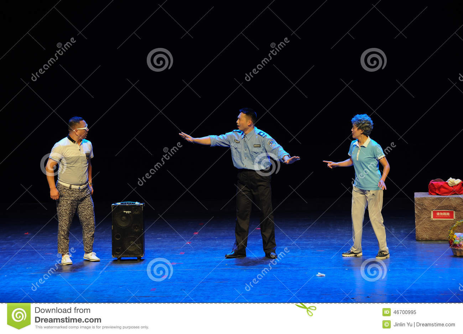 Listen Dissuade Sketch Jump Square Dance Aunt Common People Big Stage November Public Performances