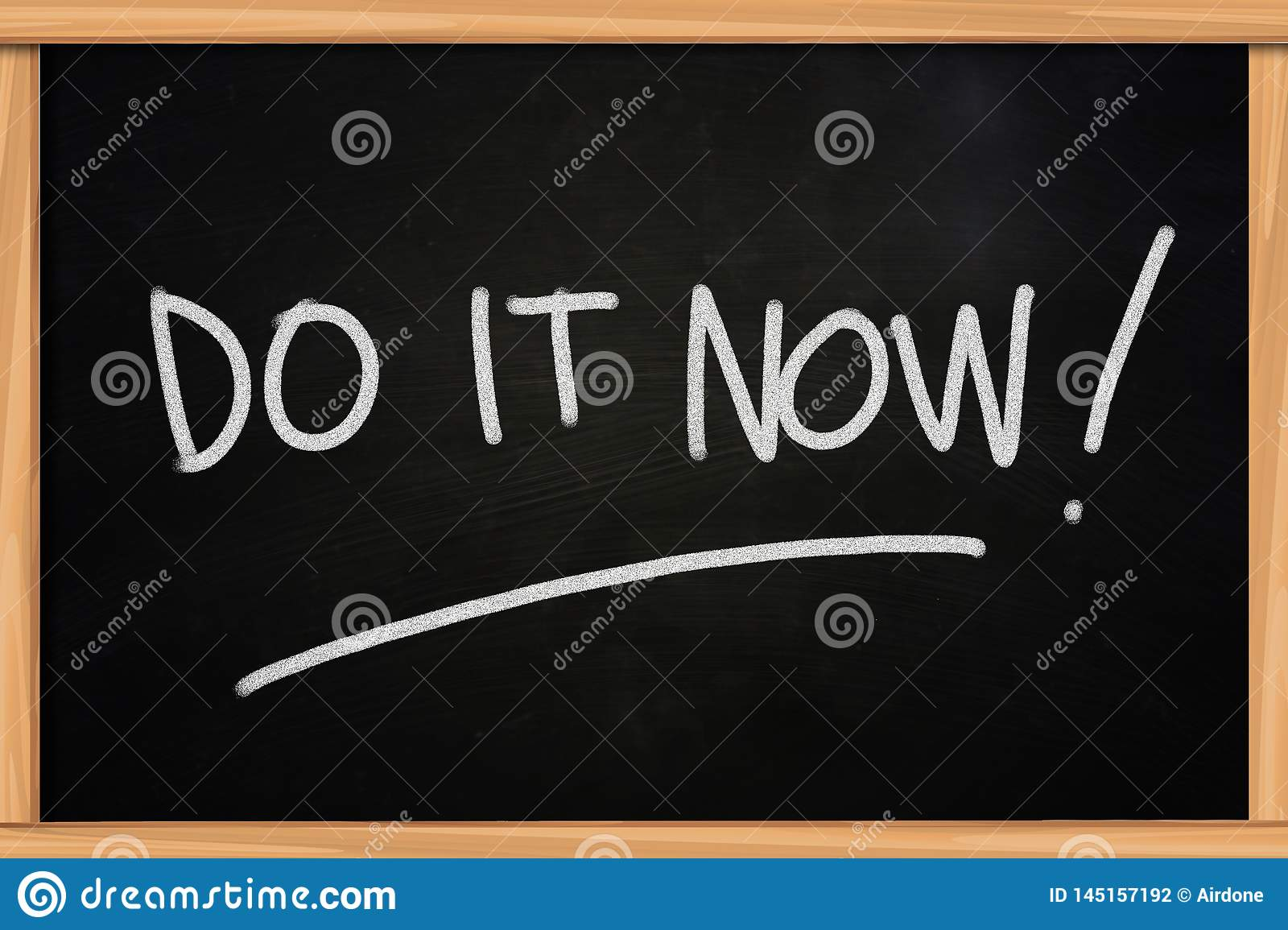 Do It Now Motivational Inspirational Quotes Stock Illustration Illustration Of Inspiration Motivate 145157192