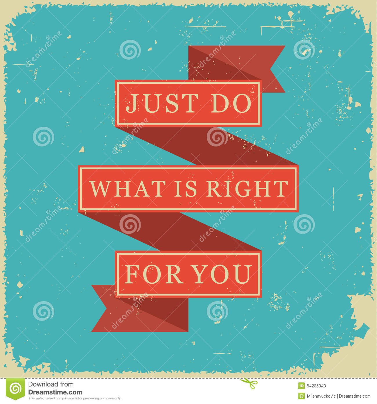 Do Right Thing Stock Illustrations 23 Do Right Thing Stock