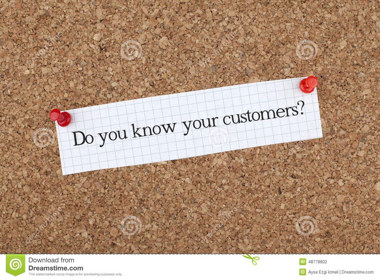 know your strengths person thinking special skills stock do you know your customers stock photography