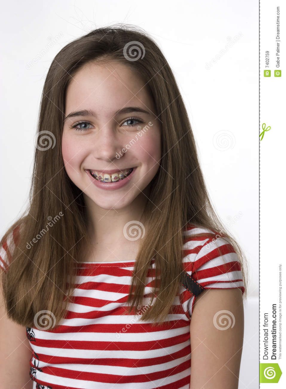 Do You Like My Braces Royalty Free Stock Images Image