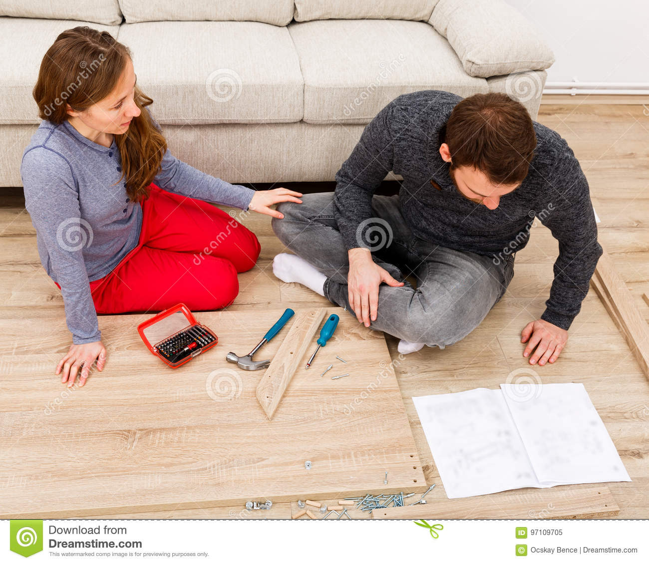Do it yourself home improvement stock image image of lovers download do it yourself home improvement stock image image of lovers furniture solutioingenieria Images