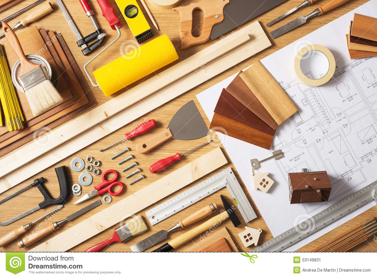 Do it yourself home improvement stock photo image 53149831 for Do it yourself home improvement projects