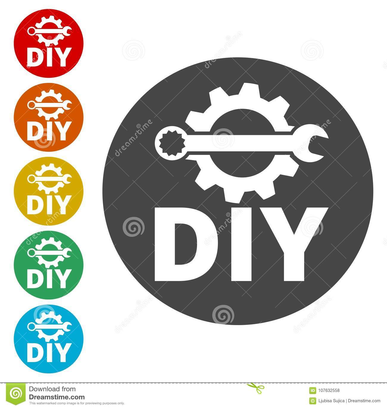 Do it yourself icon diy icon stock vector illustration of download do it yourself icon diy icon stock vector illustration of hardware design solutioingenieria Choice Image
