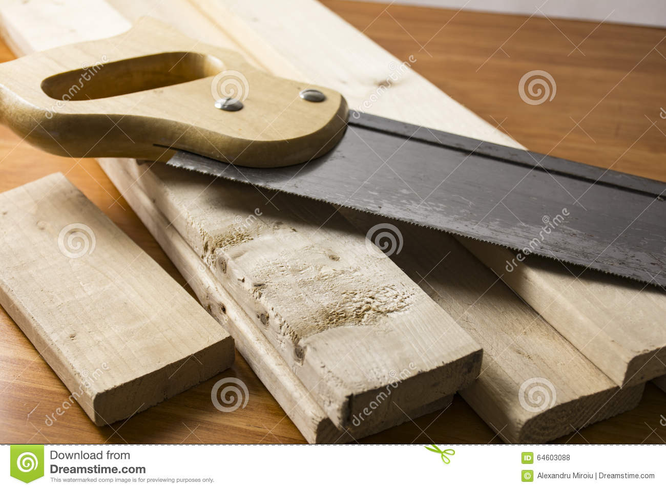 Do It Yourself Home Design: Do It Yourself Woodworking Project Stock Photo