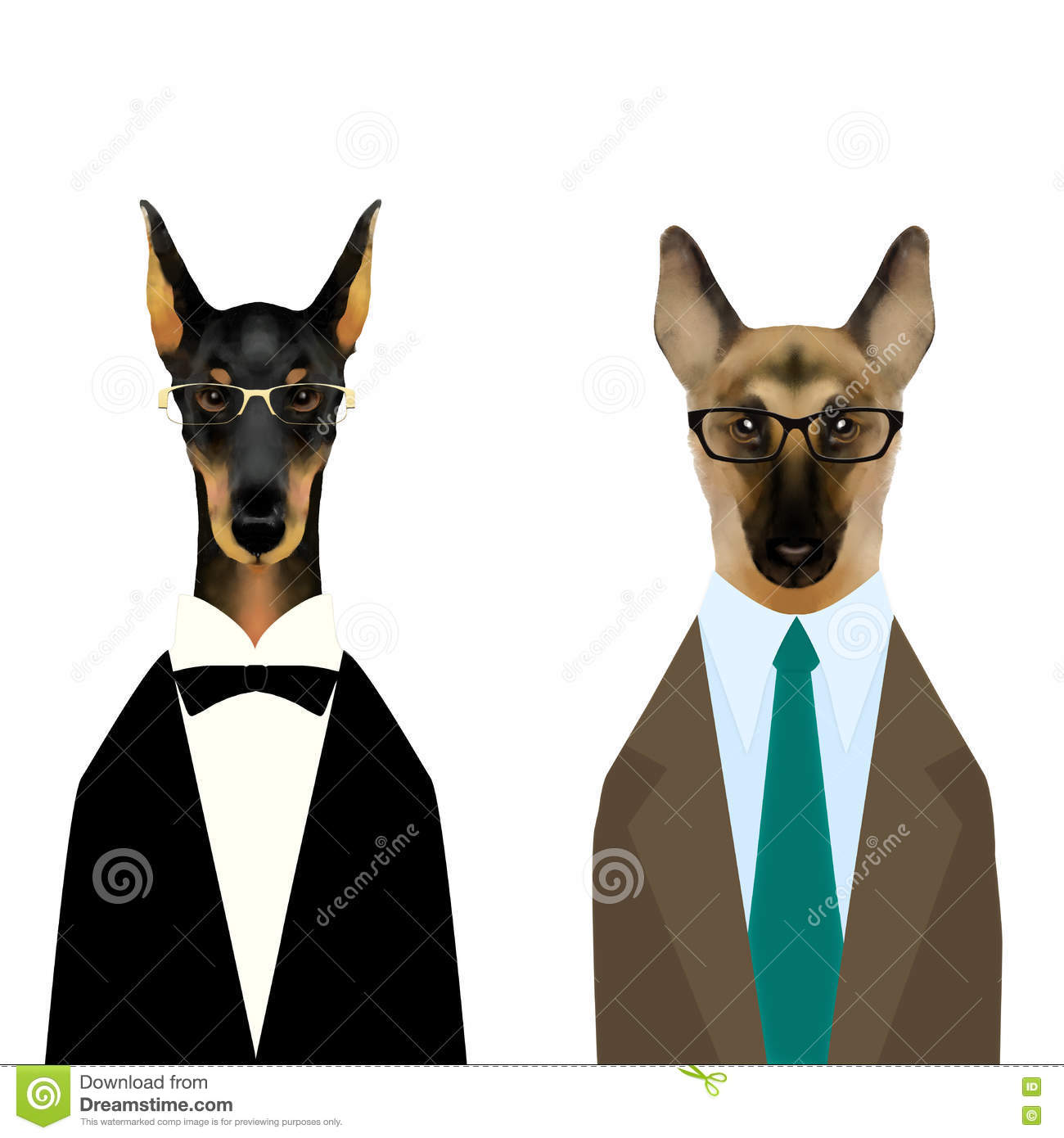 Pinscher Cartoons Illustrations Amp Vector Stock Images 202 Pictures To Download From