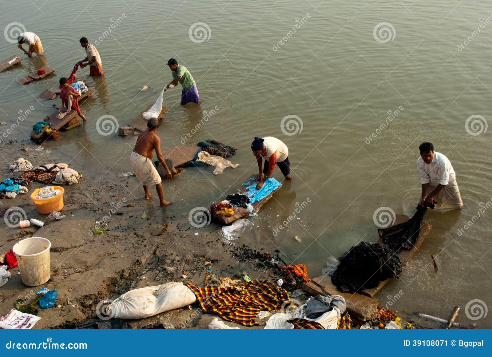 Dobhi in de Ganges