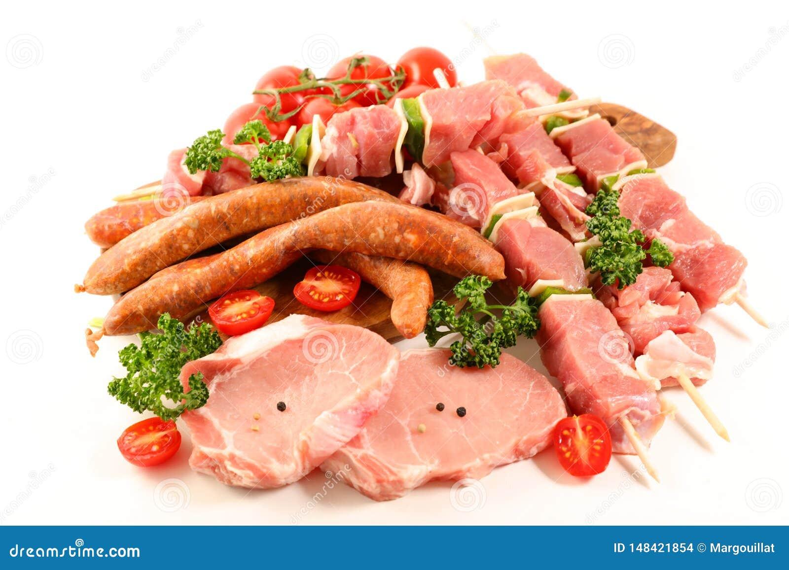Dobierający surowi mięsa