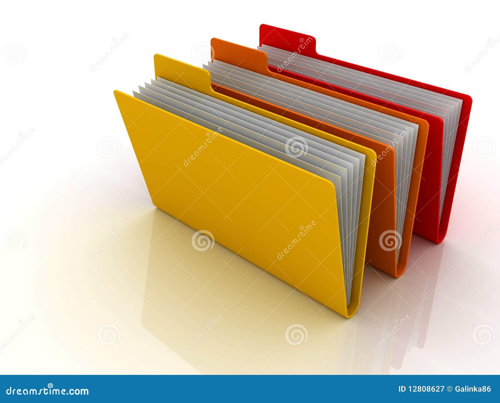 Dobradores e arquivos