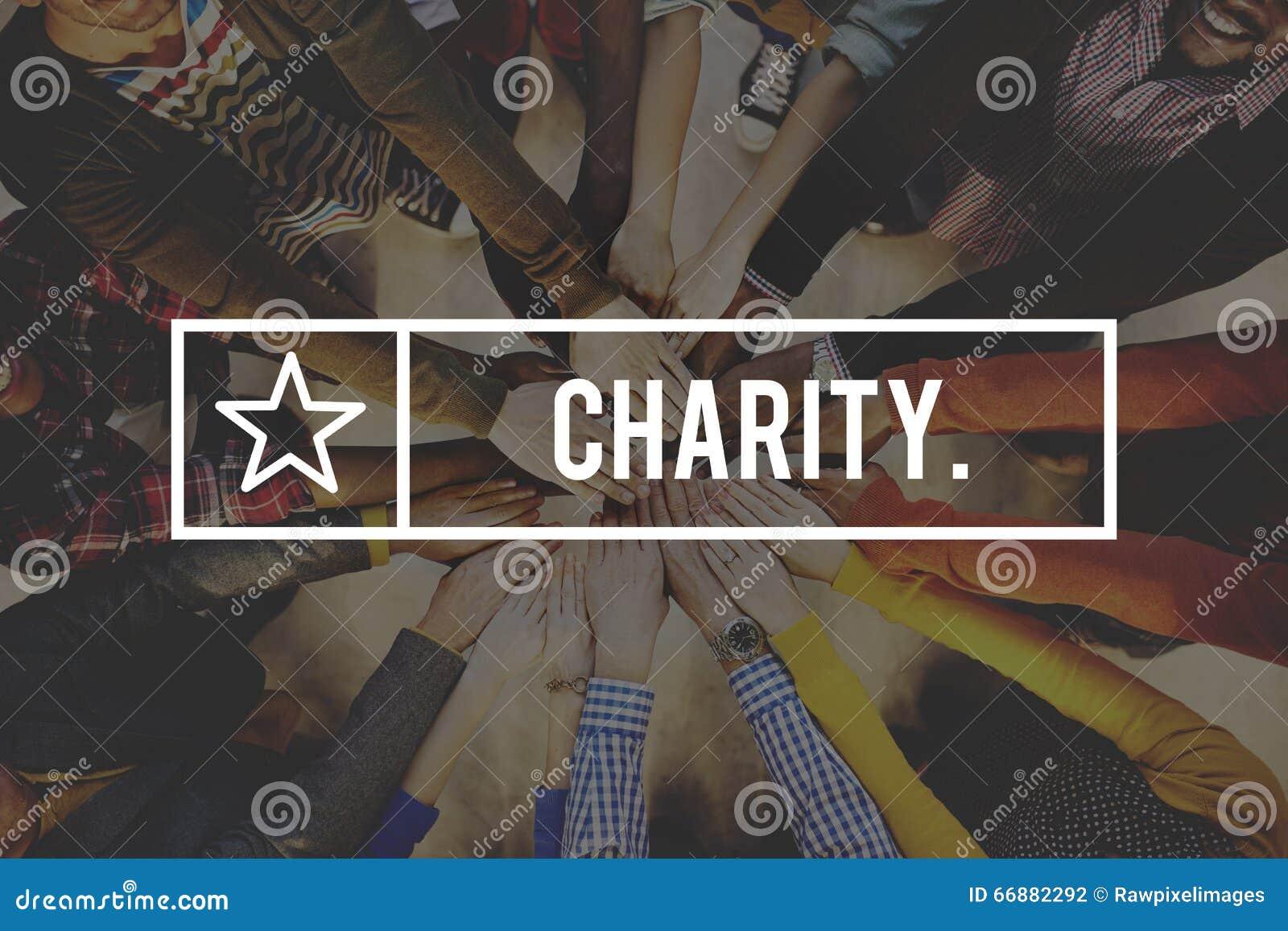 Dobroczynności opieki społecznej darowizny hojności poparcie Daje pomocy pojęciu