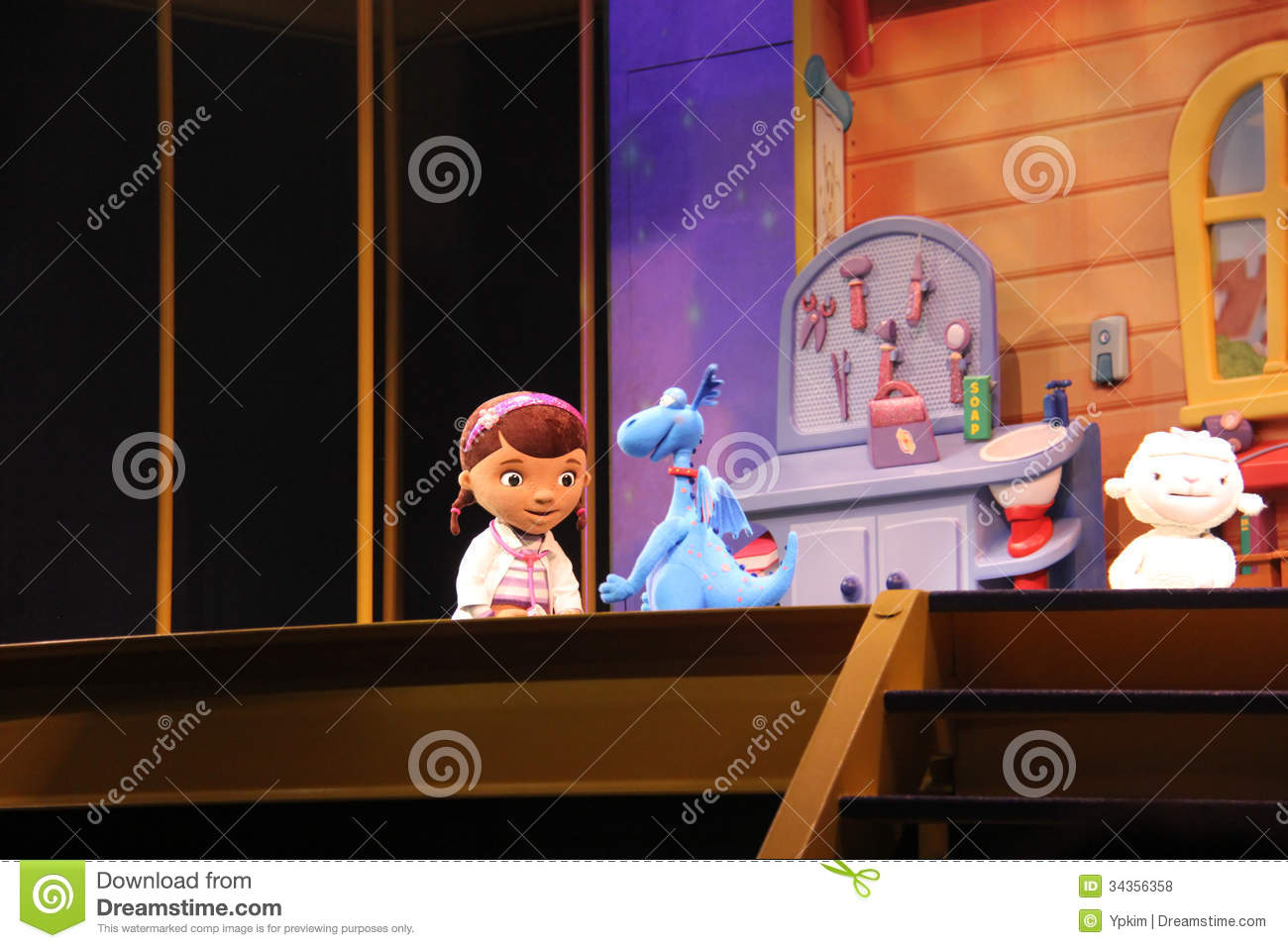 Doc Mcstuffins Show Editorial Stock Photo Image Of