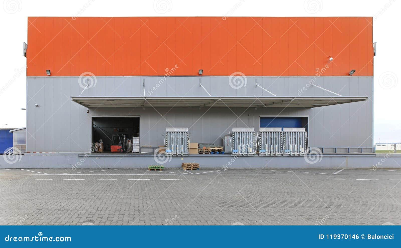 Doca do armazém