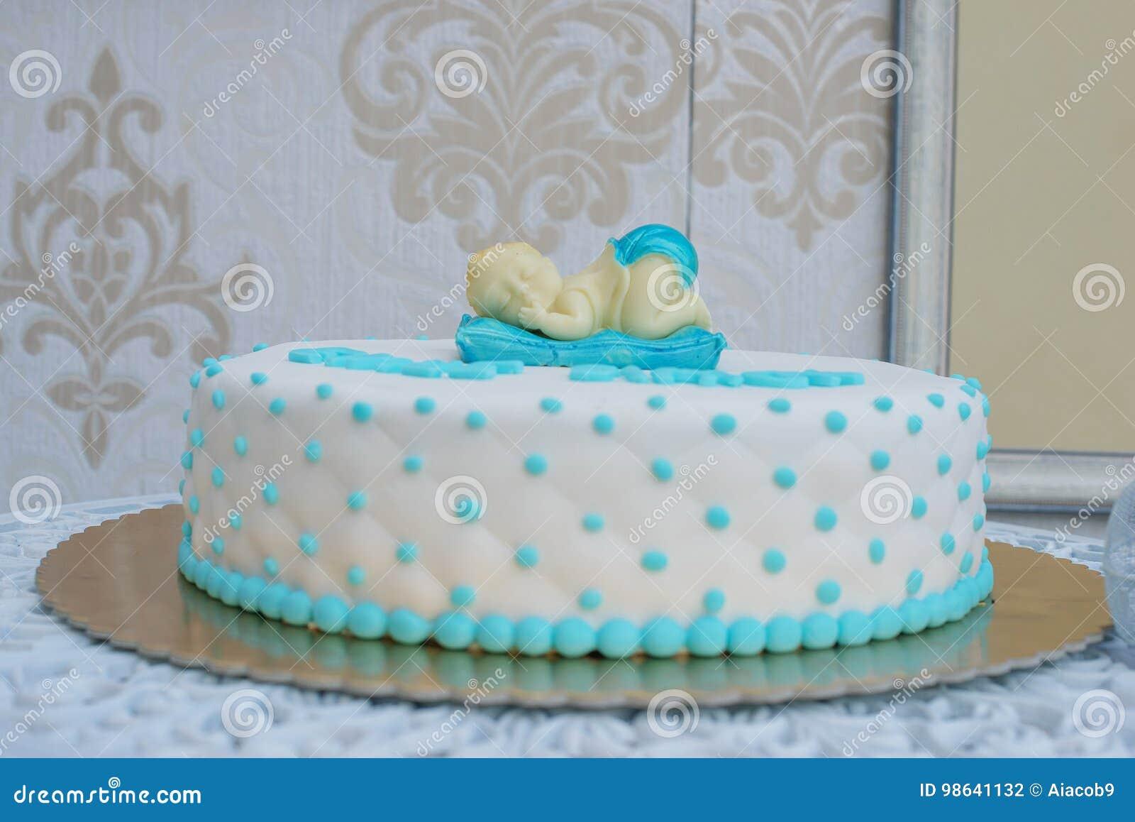 Torta Cuscino Passo Passo.Doccia Di Bambino Su Ordine O Prima Torta Di Compleanno Per