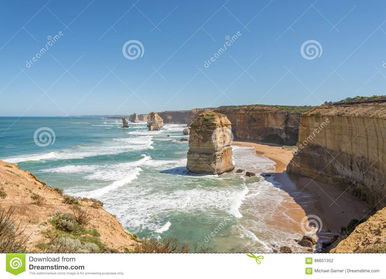 Doce pilas de la roca de los apóstoles