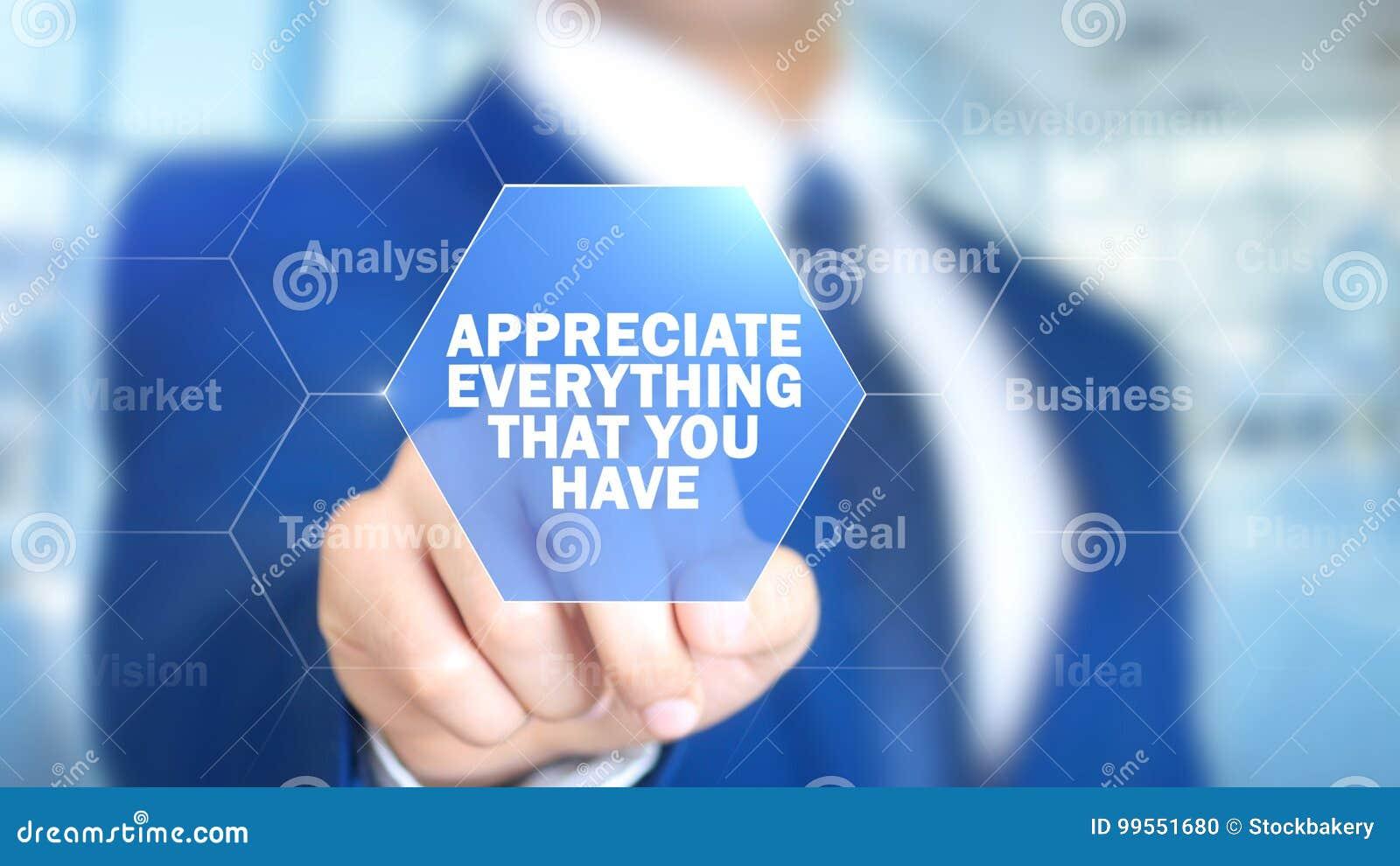 Docenia Everything mężczyzna Pracuje na Holograficznym interfejsie Który Ty,