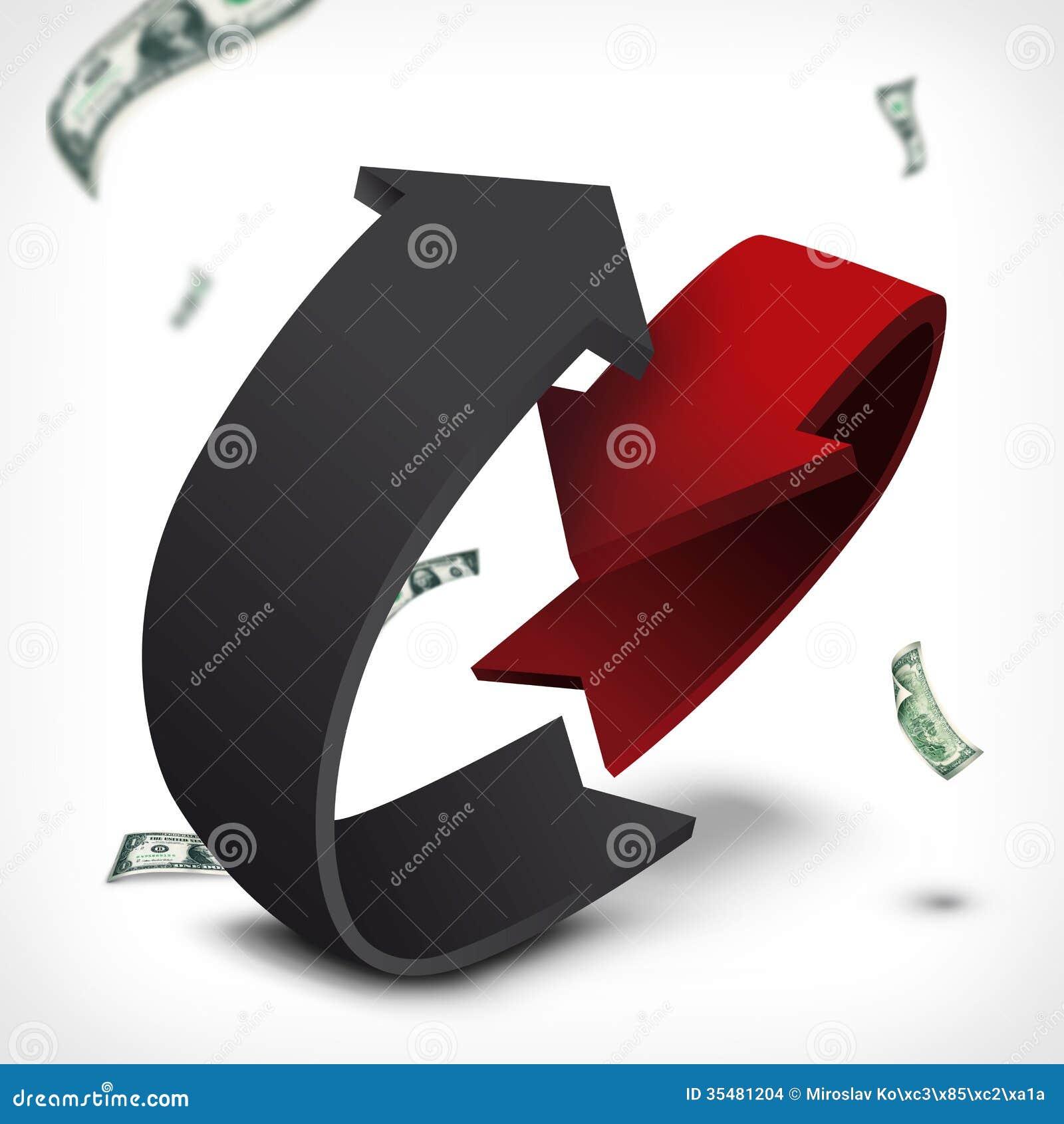 Dochodu wydatkowy abstrakcjonistyczny round wykres