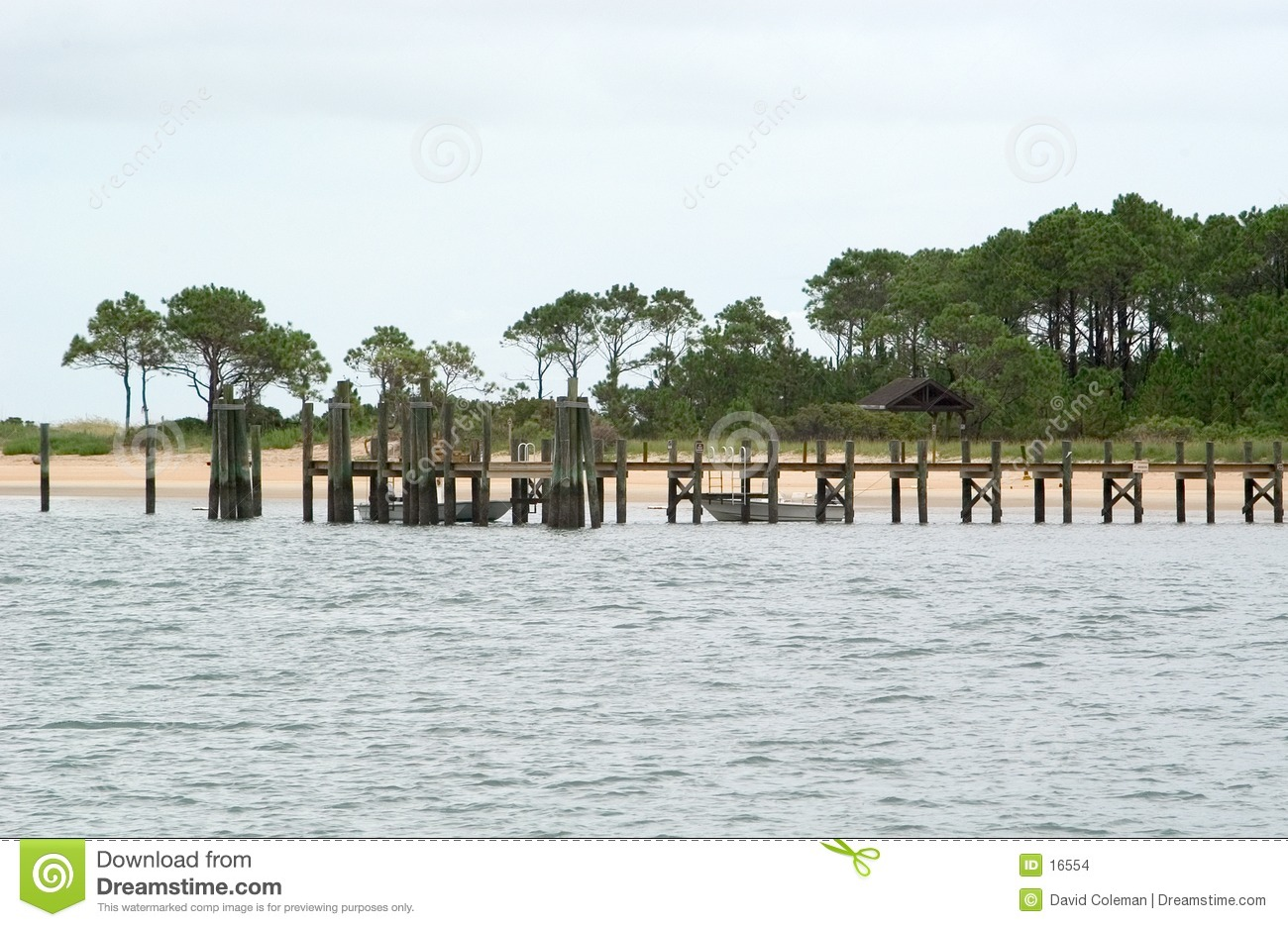 Dock at Cape Lookout