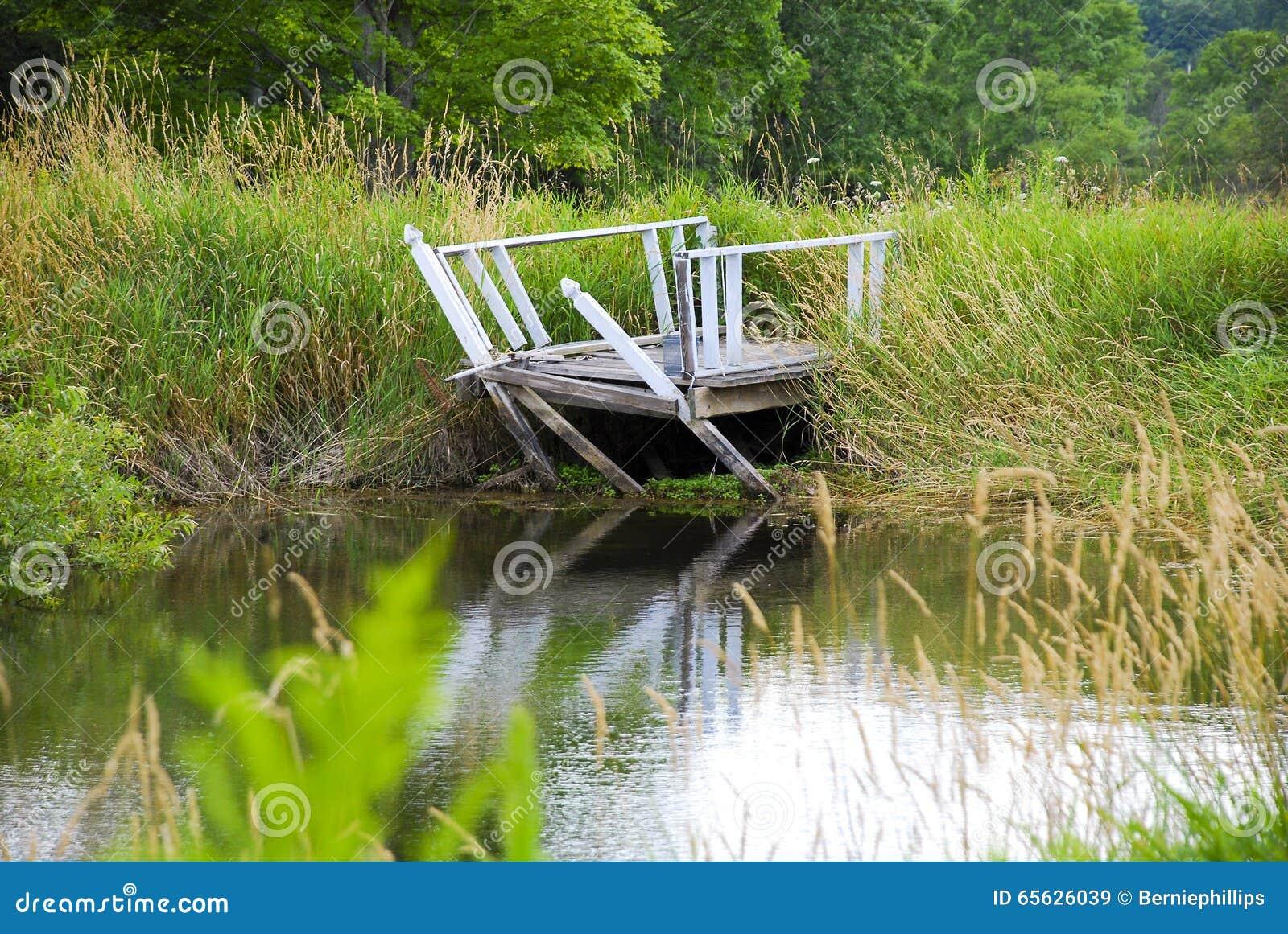 Dock cassé