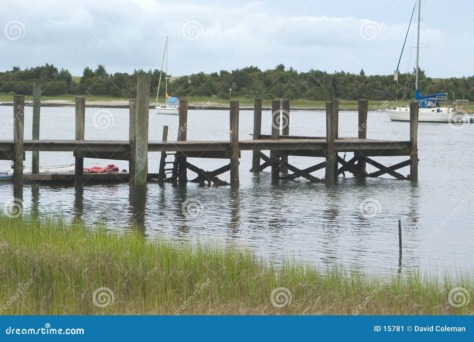Dock d océan