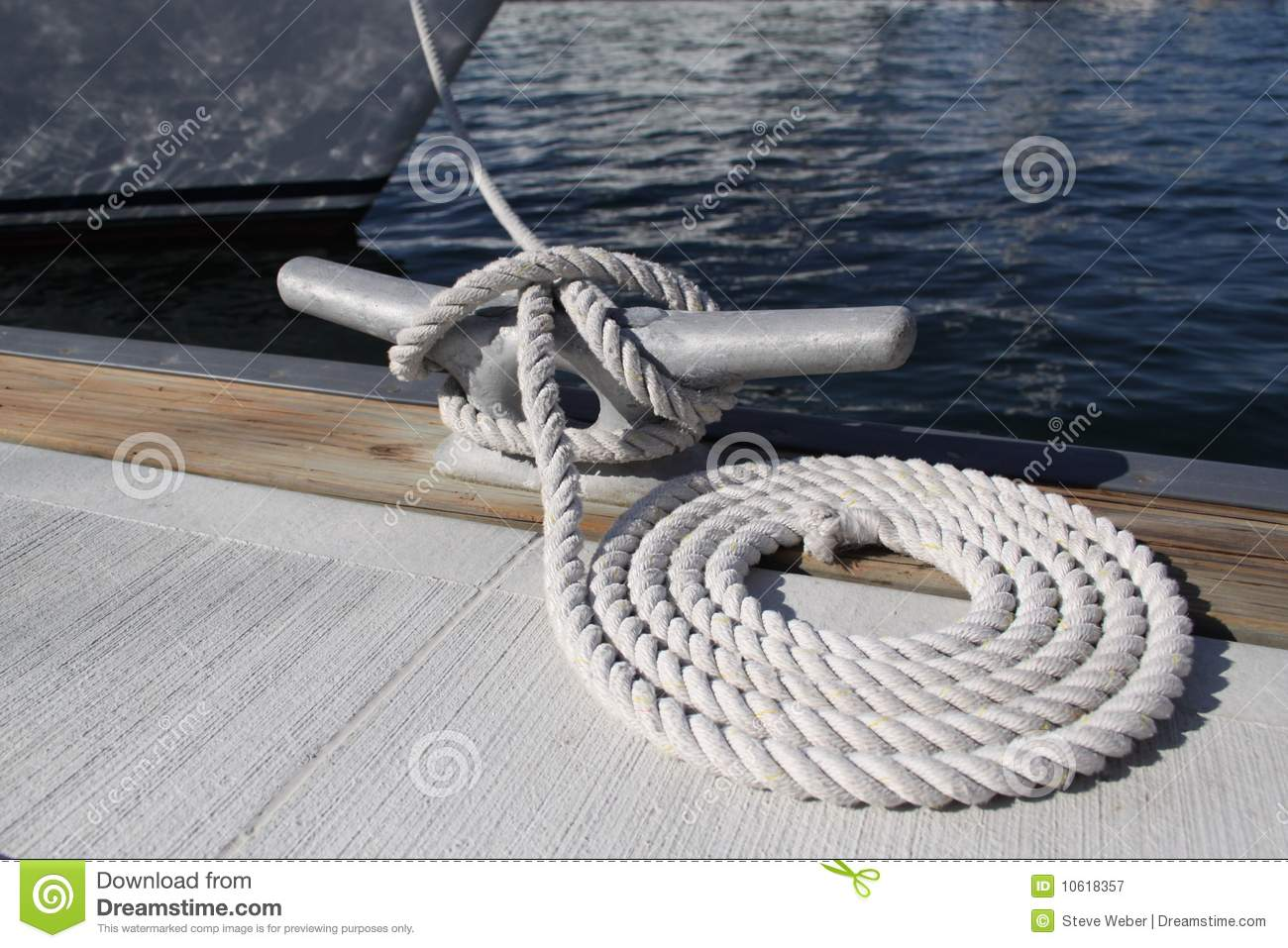Dock Rope Royalty Free Stock Photography Image 10618357