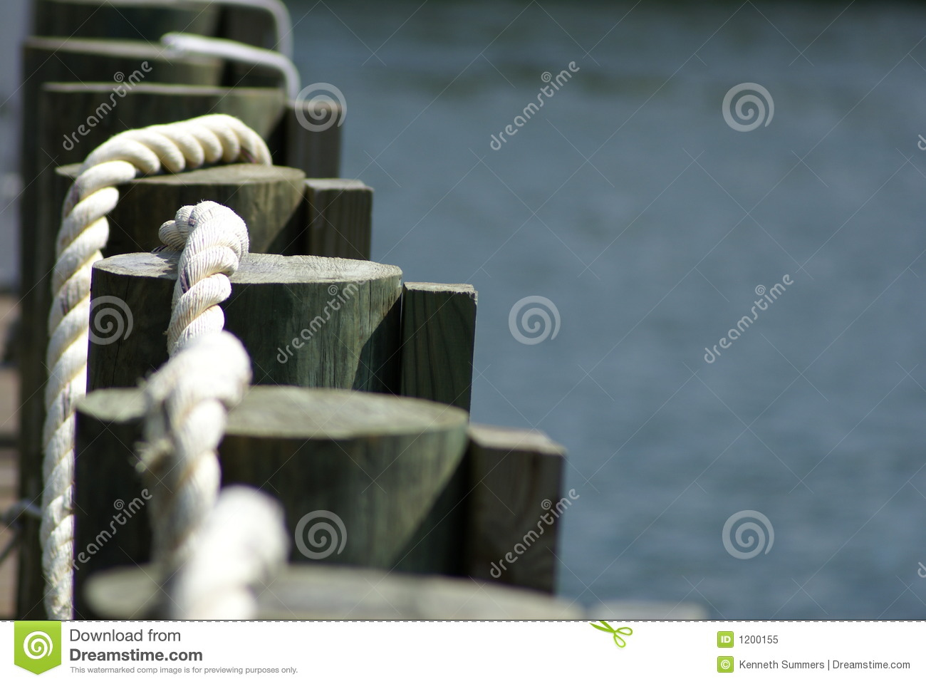 Dock and rope