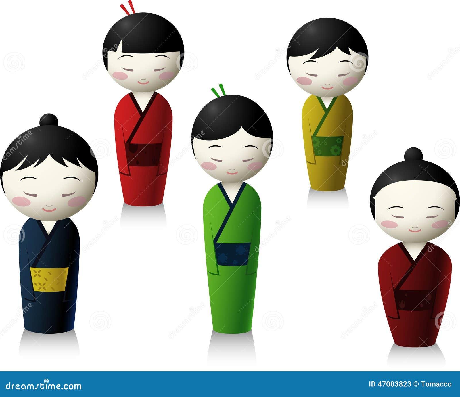 Dockatecknad film för japanskt folk