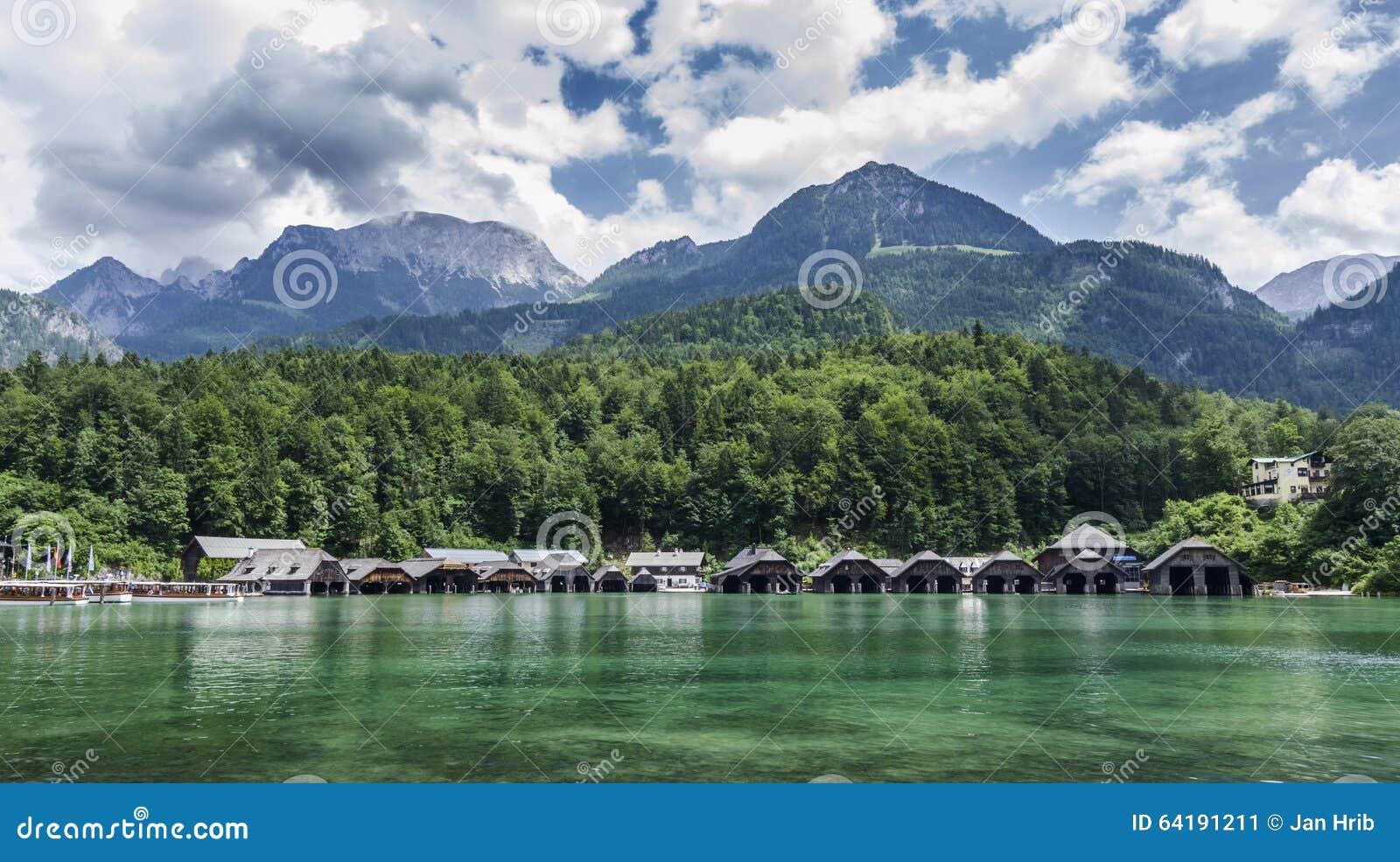 Docks bei Konigsee