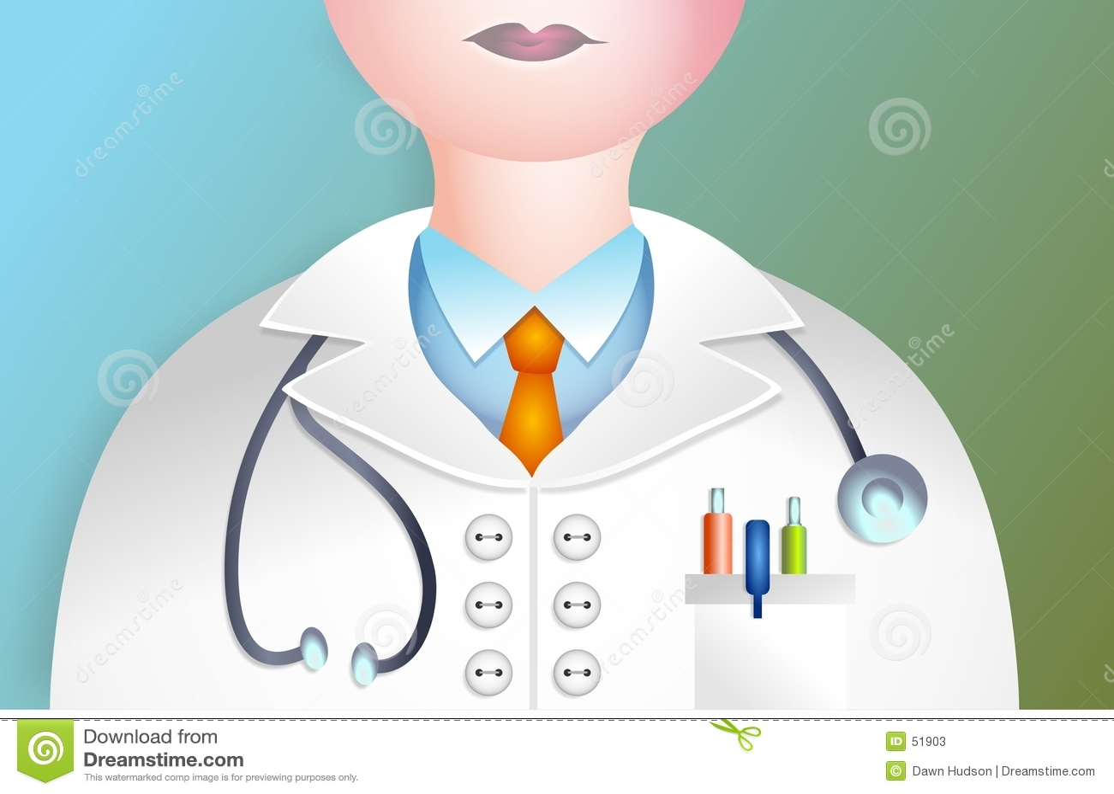Download Docteur illustration stock. Illustration du homme, praticien - 51903
