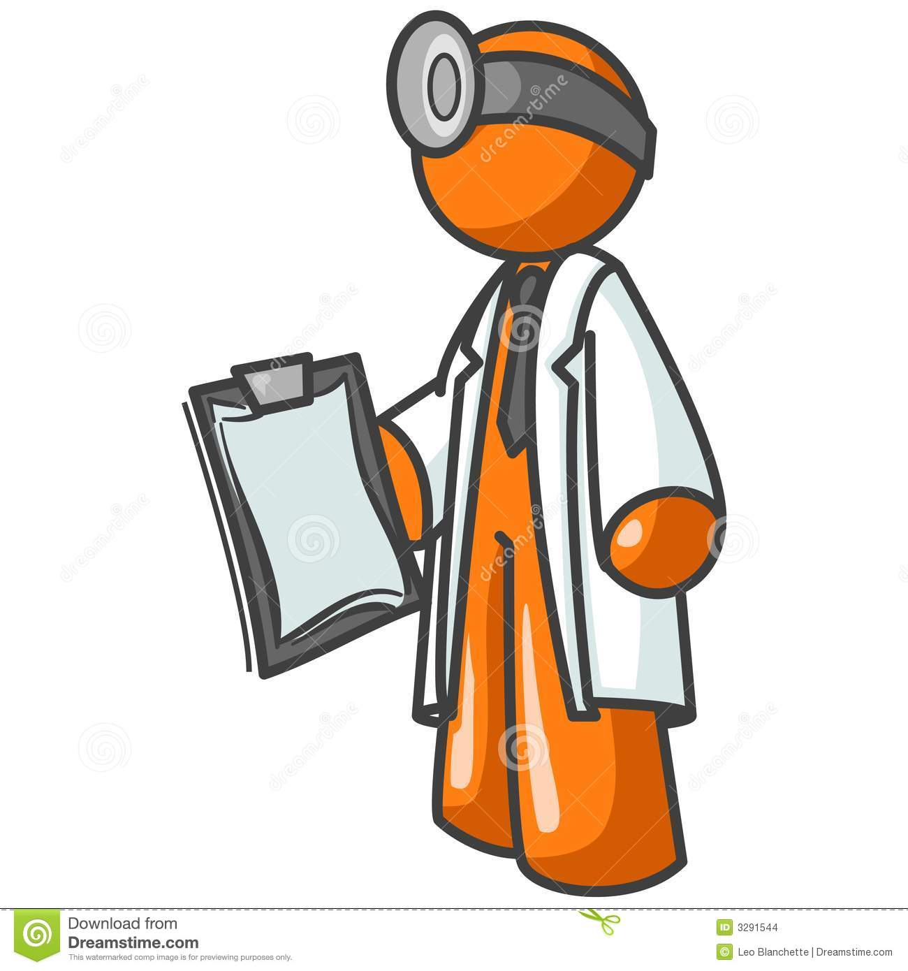 Docteur dessin anim orange d 39 homme images stock image - Orange dessin ...
